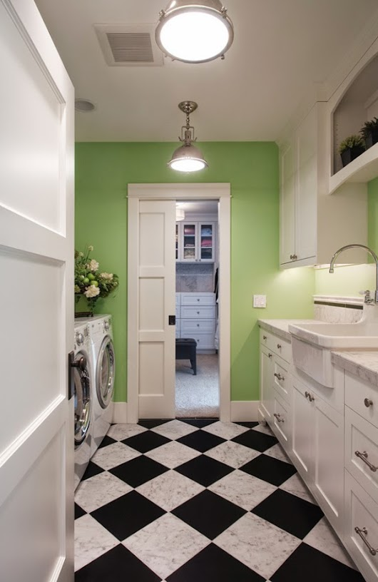 11 Green & Blue Laundry Room Design Ideas and Pictures