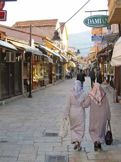Ottoman Old Town Carsija Skopje Macedonia