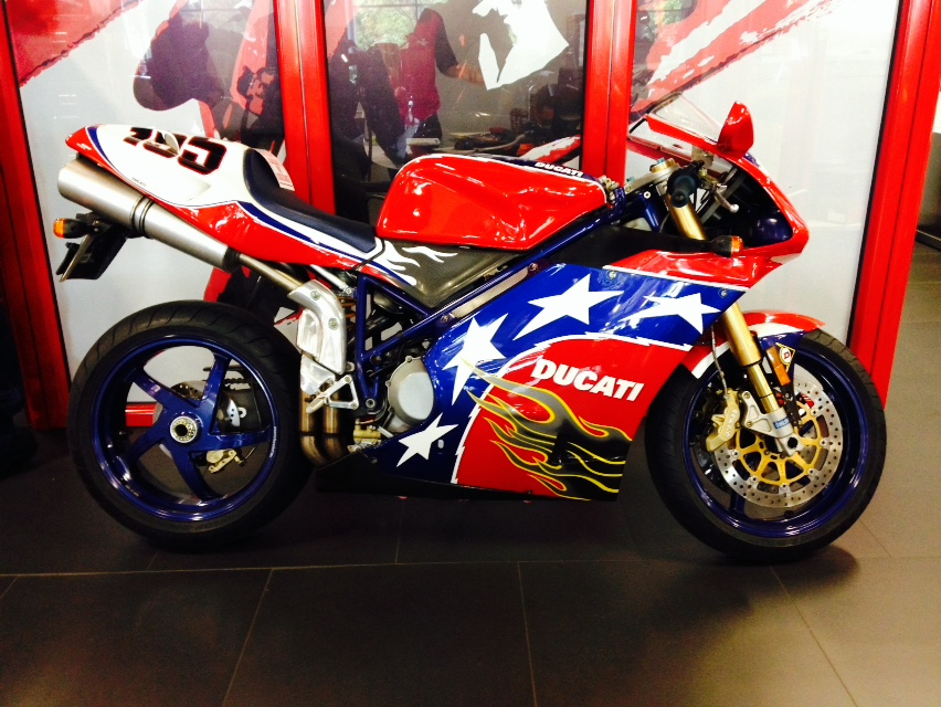 Ducati Ben Bostrom Edition 998 at Motorcycle Mall from NYDucati