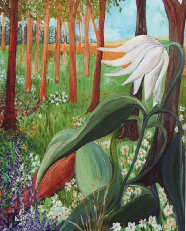 Существа из цветочного мира. Jacques Guignard 10