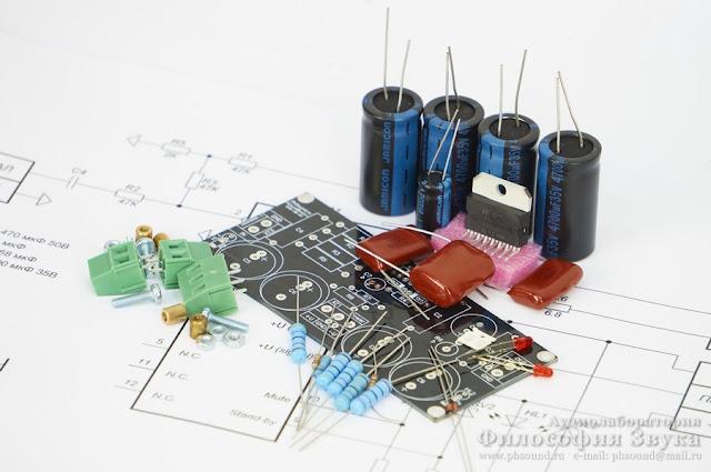 "Радиоконструктор Hi-Fi усилителя ""Кристалл"" на TDA7294"