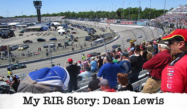 My RIR Story: Dean Lewis