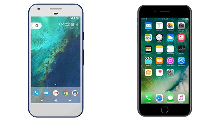 7 Perbedaan Google Pixel XL dan iPhone 7 Plus