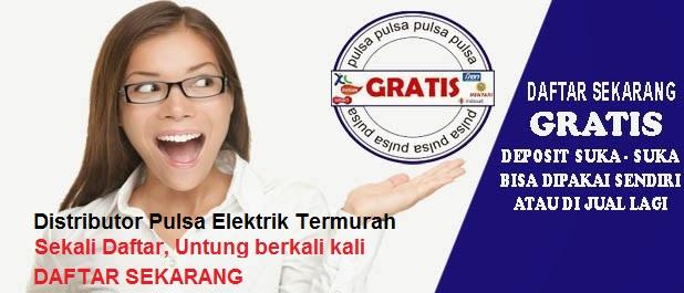 Distributor Pulsa Elektrik Termurah dan Terpercaya