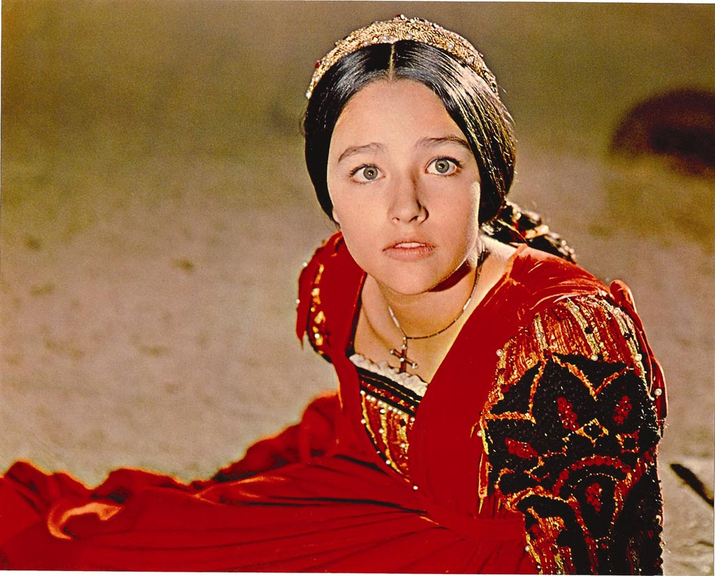 Precisely does olivia hussey romeo and juliet that