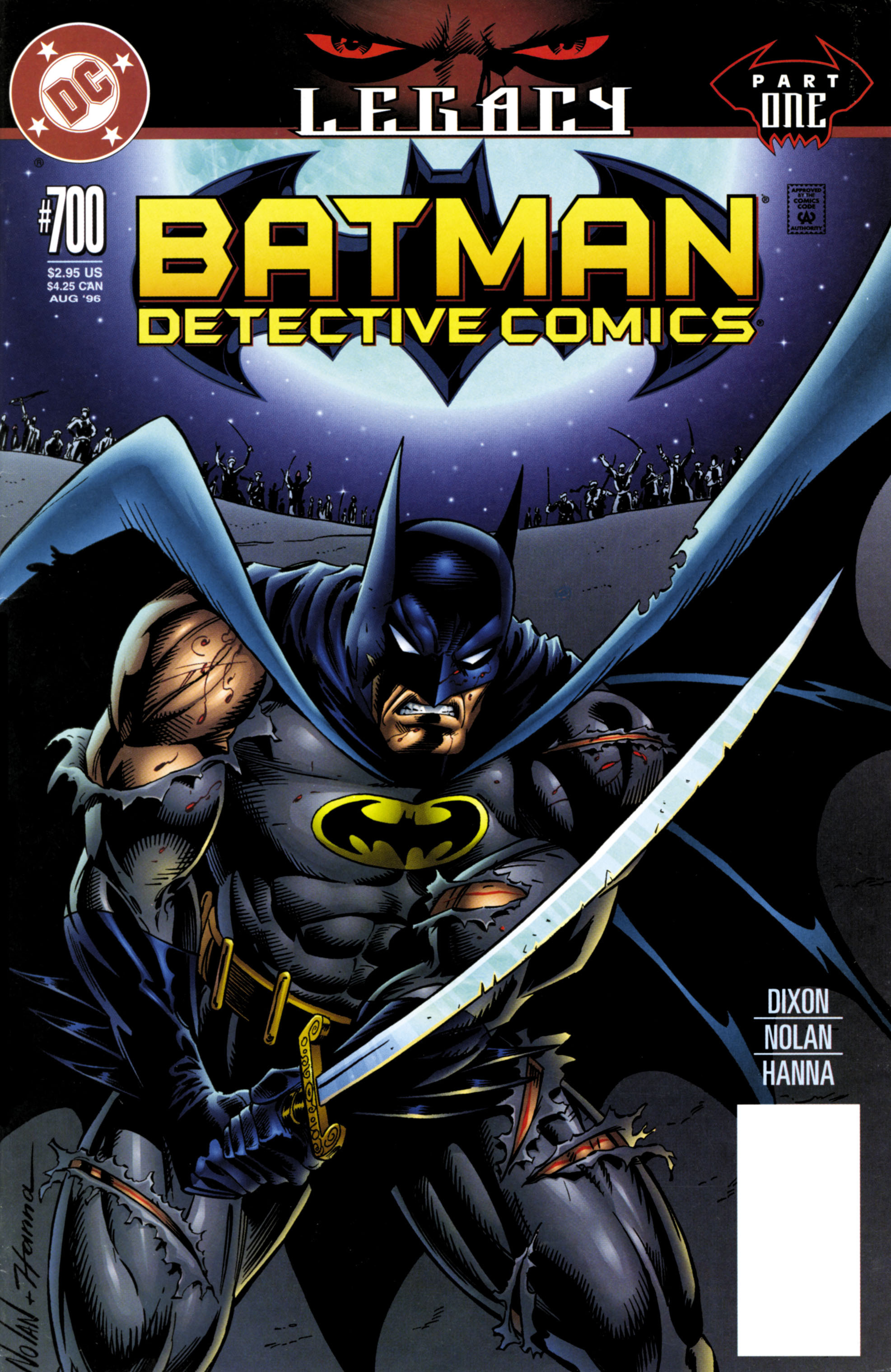 Detective Comics (1937) 700 Page 1