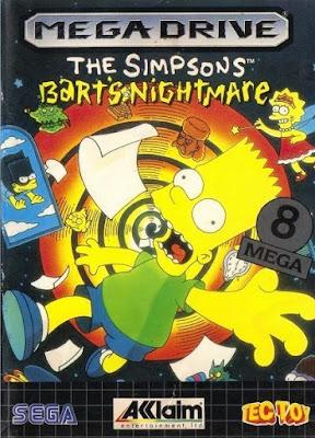 Rom de The Simpsons: Bart Nightmare - Mega Drive - PT-BR