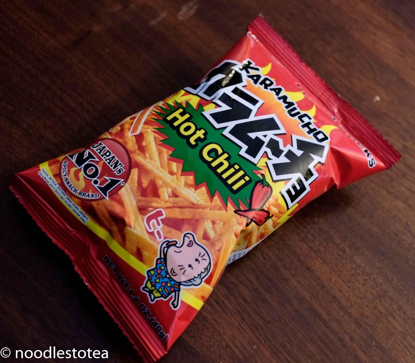 Noodles To Tea: Karamucho Hot Chili Fries