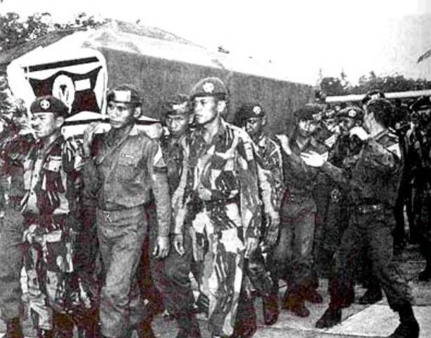 Peti mati para jenderal serangan partai Komunis Indonesia