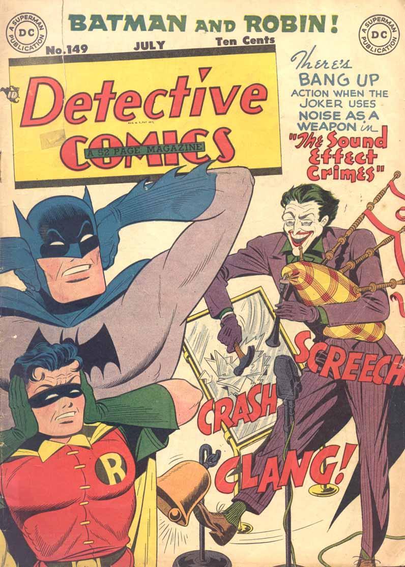 Read online Detective Comics (1937) comic -  Issue #149 - 1