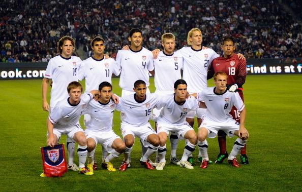 Formación de Estados Unidos ante Chile, amistoso disputado el 23 de enero de 2011