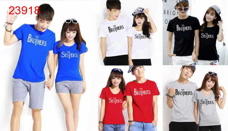 Jual Baju Couple The Brothers - 23918