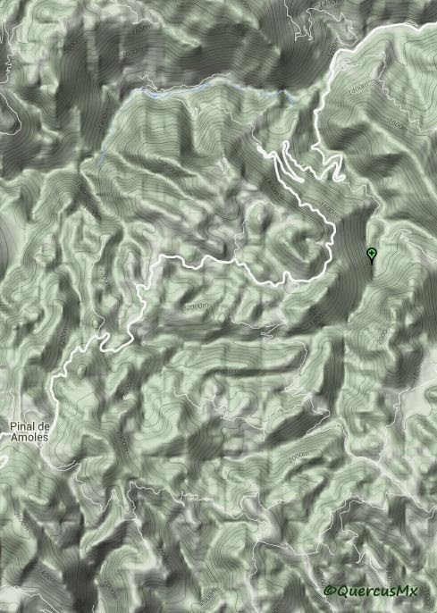Cañonismo en la Barranca de Chuveje, Pinal de Amoles, Querétaro