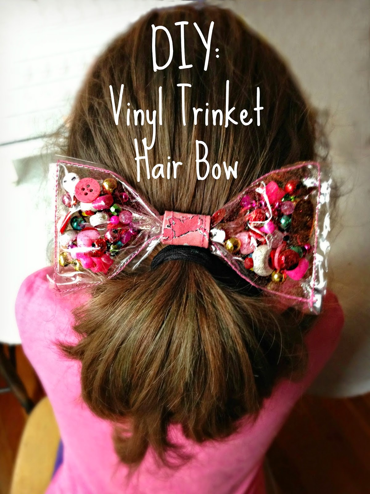 Whimsy Love Diy Vinyl Trinket Hair Bow