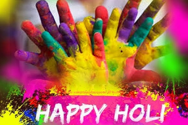 Happy Holi Images SMS
