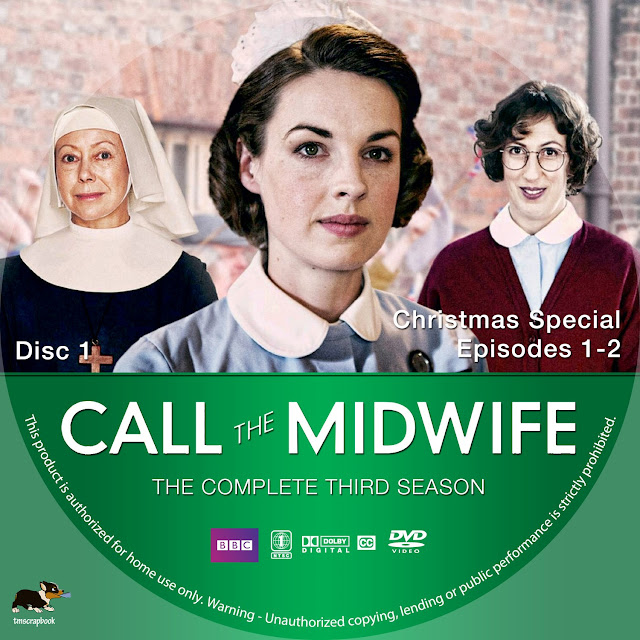 Call The Midwife Season 3 Disc 1 DVD Label