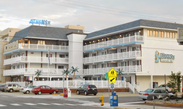 Athens II Hotel in North Wildwood New Jersey