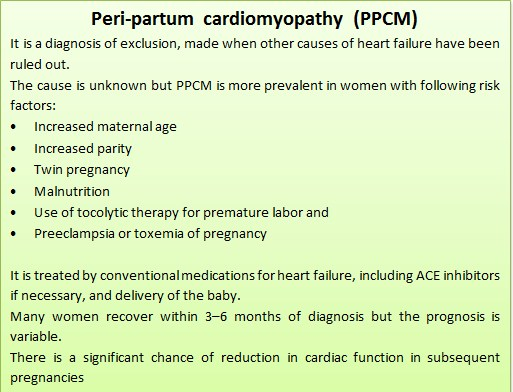 What are the diagnostic criteria of Peri-partum cardiomyopathy (PPCM)?