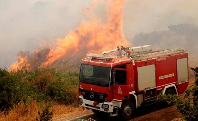 Πρέβεζα: Τέσσερις πυρκαγιές σε δύο ώρες!! - Στις φλόγες Ι.Χ.