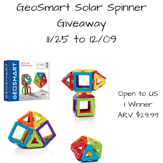 Enter the GeoSmart Solar Spinner Ends 12/9