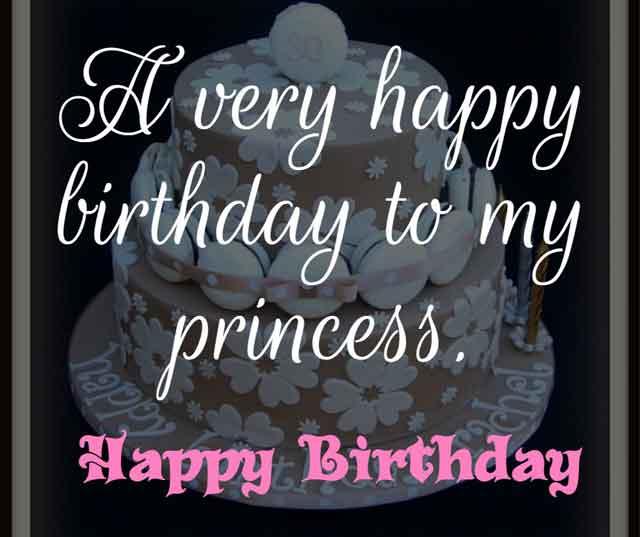 ❝ A very happy birthday to my princess. ❞