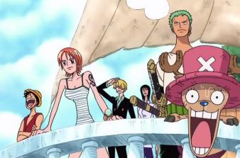 One Piece: Episódio 153 – Esse é o mar do céu! O cavaleiro do céu e o portão do paraíso.