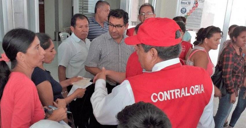 Contraloría supervisa más de 100 colegios en la región Lambayeque