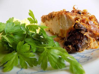 Zapiekanka z kurczaka i kapusty