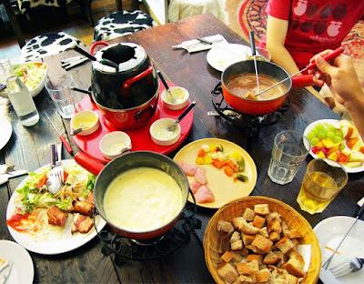 瑞士自助 筆記:起司/炸肉鍋複合式經營