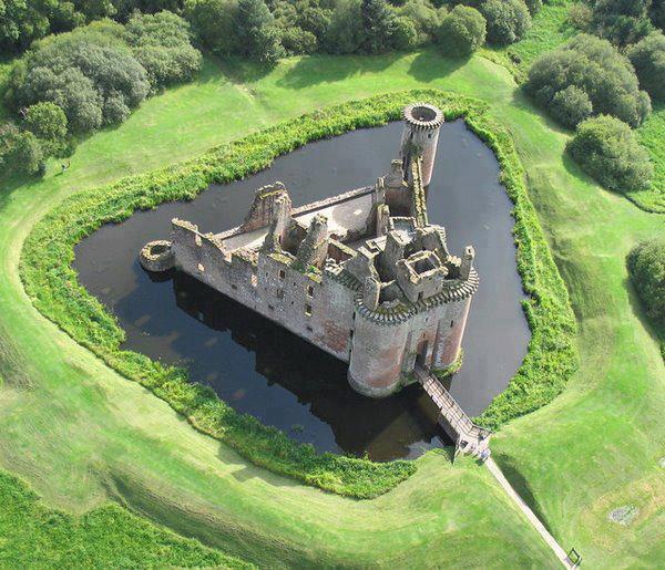 Unseen World: Caerlaverock Castle, South-west Scotland