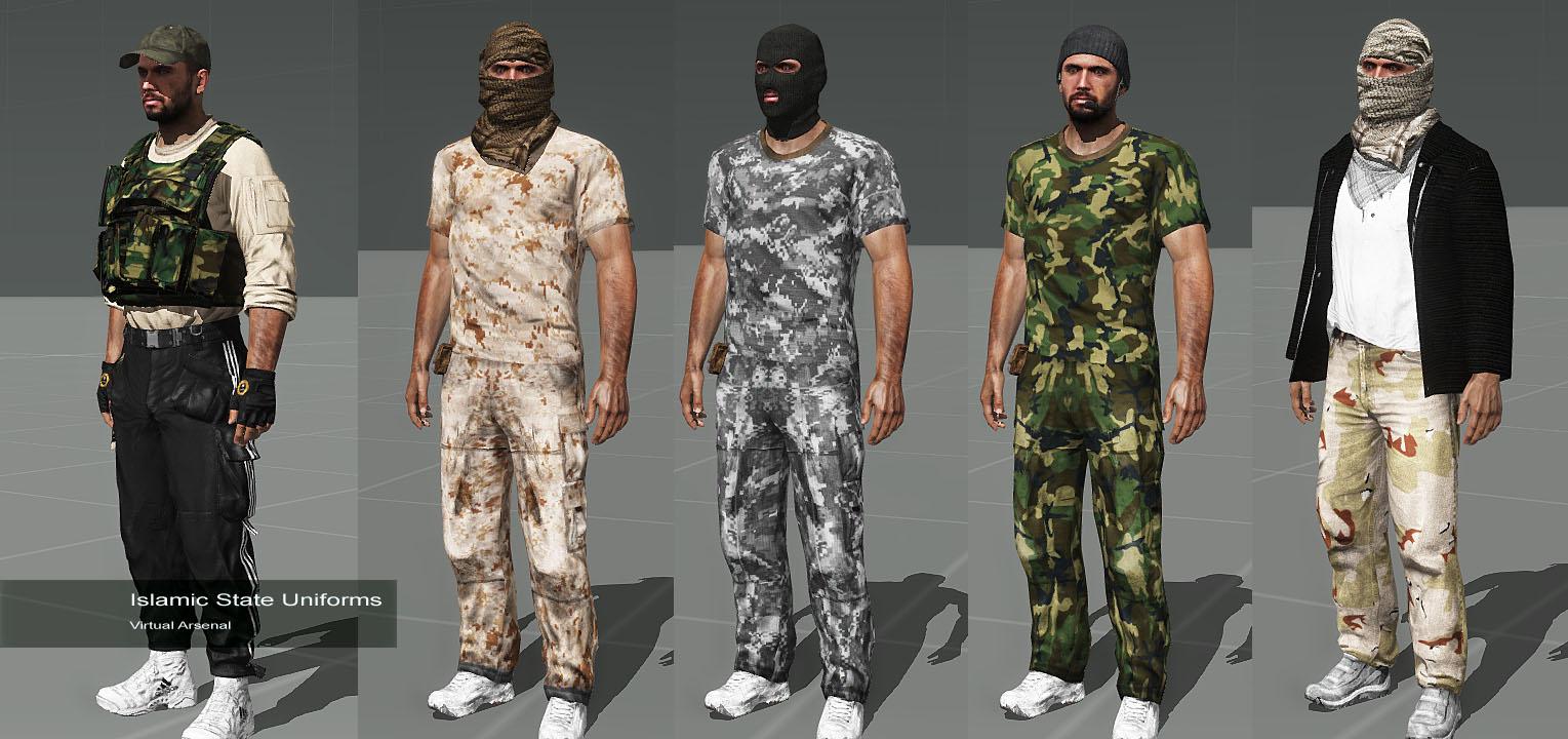 弱者の日記^^イラク国軍とイスラム国を追加する The Iraqi Warfare Mod がバージョン 2.0 に更新で Zeus に対応