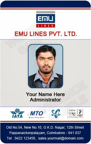 coimbatore ph 97905 47171 identity. corporate identity template ...