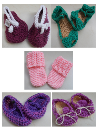free crochet baby shoes pattern,free crochet baby booties pattern