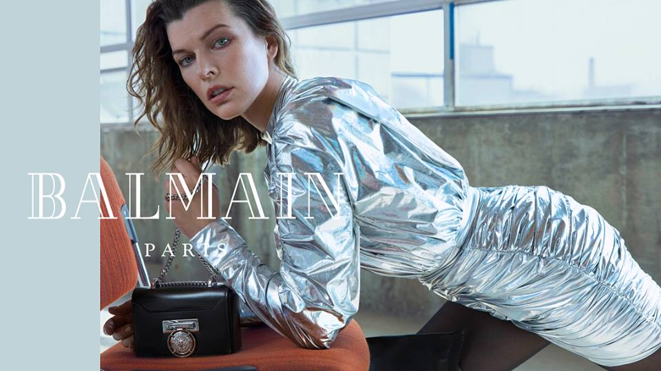 Balmain Fall Winter 2018 Ad Campaign