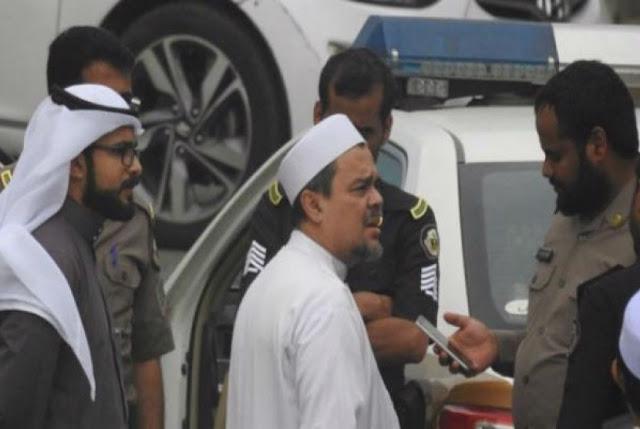 Habib Rizieq Shihab Ditahan Polisi Saudi? Ini Kata Pengacaranya