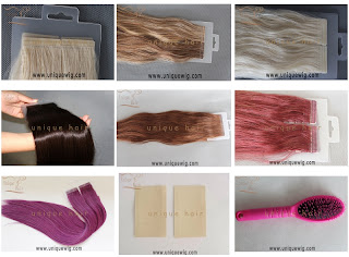 tape weft,hair replacement tape