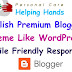 Provide You My Blogger Perfect Theme for 25$