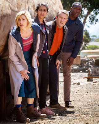 Dr. Who - Whittaker & Cast