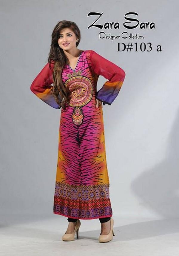 Zara Sara Latest Eid Lawn Suites 2013 By Dawood Fashion