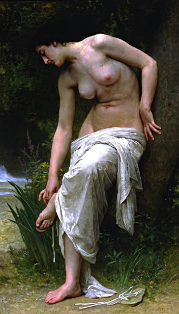 William-Adolphe Bouguereau: Dopo il bagno