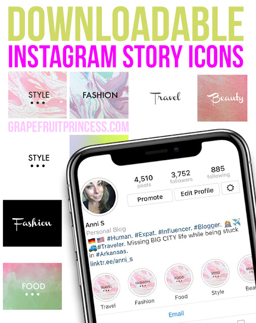 Instagram Story Icons download