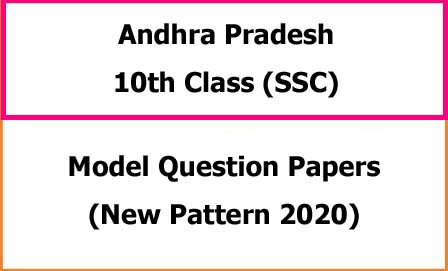 AP SSC/10th Class Exam Model Papers 2020