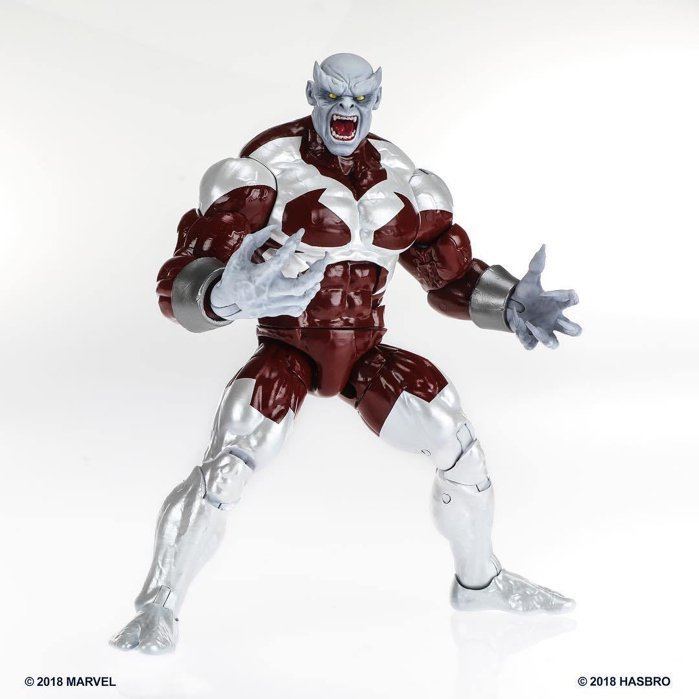 "Hasbro Marvel Legends X-men 6/"" Figura De Ação Fera Baf Caliban Hasbro"