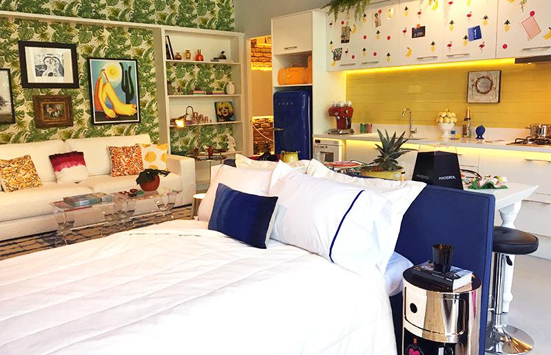 Inspiração: um loft super colorido e super good-vibes ✌︎ | Casa&Cozinha