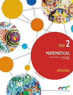 Libro Matemáticas 2º ESO Anaya Proyecto Aprender es Crecer