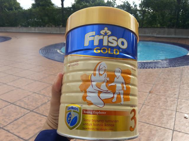FRISO GOLD : BANTU ANAK KUAT DARI DALAM KETIKA AKTIVITI DI LUAR RUMAH