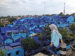 Foto Kampung Biru Arema Hd Terbaru
