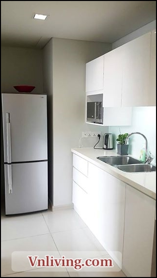 Kitchen room in City Garden apartment 1 bedroom for rent