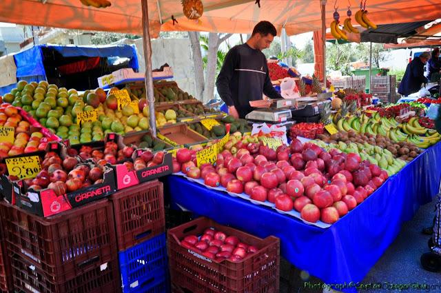 Προσωρινή μετακίνηση τμήματος της Λαϊκής Αγοράς στο Άργος