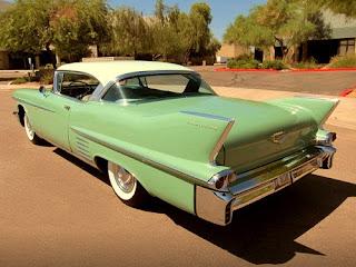 1958 Cadillac Coupe de Ville Rear Left
